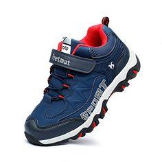 new products 4b60a c4ea7 QANSI Boys Sneakers Waterproof Kids Tennis Running Hiking Shoes