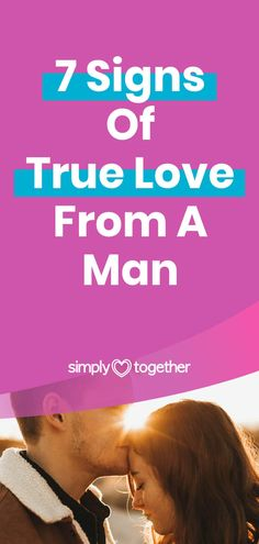 It can be difficult to notice the signs of true love. Especially when you're figuring out what your relationship status is: Is he the one? Are we soulmates? These 7 signs will tell you what his feelings towards you are.  #RelationshipAdvice #ForWomen #Truths #BoyfriendTips #RelationshipStuff Can You Be, Told You So, Love Paragraph, Signs Of True Love, Messages For Him, Deep Love, Really Love You, Relationship Advice, Truths