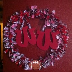 Door Decoration for high school football season :)