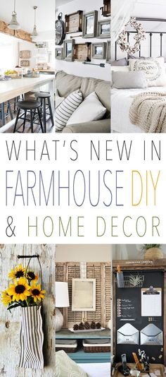 What's New in Farmhouse DIY and Home Decor - The Cottage Market