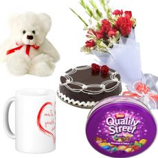 Send Birthday Gifts To Pakistan You Can Cakes Balloons Candles Cards Hampers Or Combos Your Sweet Husband Wife In