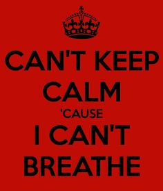 """Eric Garner was choked out by a police officer and died. Some of his last words were """"I can't breath."""" Take time to remember him."""