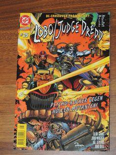 DC Crossover #25 Lobo / Judge Dredd (Dino Comics)