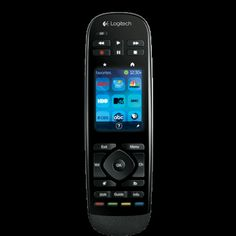 Logitech Harmony universal home theater remote and app