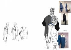 Fashion Sketchbook - fashion design development; fashion student portfolio // Francesca Phipps