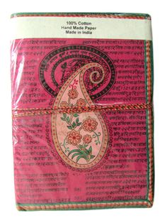 Large Indian Paisley Art Journal Fuchsia Pink by IndianJournals, $8.99