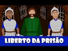 Liberto da prisão – a história de como Deus libertou Pedro de forma milagrosa!