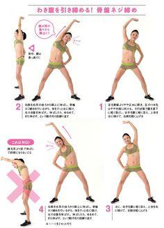 【骨盤ネジ締めダイエットのやり方】女性の尿漏れも改善するエクササイズ|ケンカツ! Health Fitness, Exercise, Workouts, Training, Women's Fashion, Beauty, Ejercicio, Fashion Women
