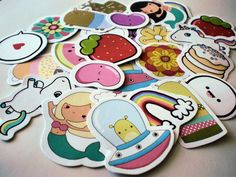 Sweet and cute stickers