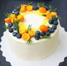 New cake decorating ideas berries white chocolate ideas - Dinner, Food & More - Cupcakes, Cupcake Cakes, Fancy Cakes, Mini Cakes, Bolo Vegan, Cake Decorated With Fruit, Fresh Fruit Cake, Gateaux Cake, New Cake