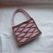 Ravelry: Tunisian Brocade Stitch Bag pattern by Shana Rae.. Free pattern!