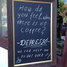 Depresso - Tea and Coffee World #corkcity #corkcoffee (From Instagram)