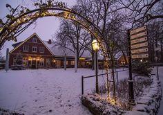 Winterlandschaft Haarmühle, Alstätte