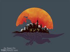 The City That Never Sleeps T-Shirt - http://teecraze.com/daily-deal-4/ -  Designed by xiaobaosg