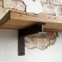 Industrial Steel Shelf Bracket No.7