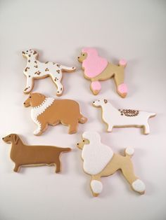 Who could eat a cookie that looks like a dog?!?