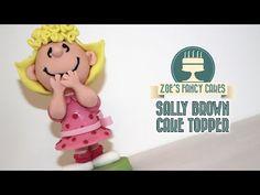 Sally Brown cake model Peanuts gang - YouTube