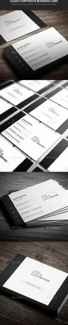 Software engineer business card business card design templates clean corporate business card 09 reheart Image collections