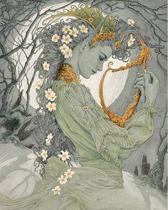 Art And Illustration, Fantasy World, Fantasy Art, Art Inspo, Elfa, Fairytale Art, Fairy Art, Oeuvre D'art, Illustrators