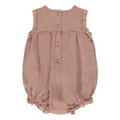Lace Linen Romper-product