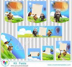 Kit festa UP Altas aventuras mod:800 Você mesma personaliza  Printable Party