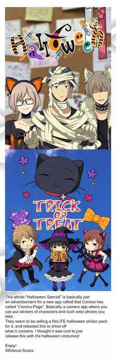 ReLIFE 100.1: Halloween Special at MangaFox.me