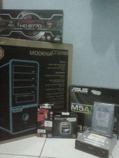 Bro Yuki, Spec : AMD Phenom II X4 955BE | ASUS M5A78L-M/USB3 | XFX HD6770 1GB DDR5 | KINGSTON 4GB DDR3 | WDC 1TB Blue Sata3 | SAMSUNG DVD-RW | POWER LOGIC MODENA GTX2000