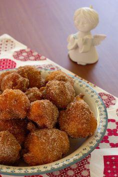sonhos de abóbora; Cinco Quartos de Laranja: Cuisine Companion