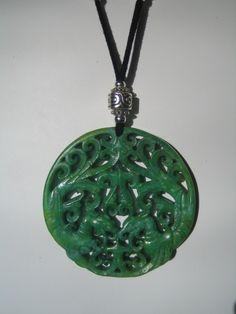 Collar - Colgante de jade - Àngels Canut - Barcelona