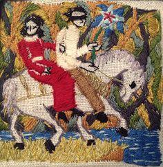 Michelle Kingdom's embroideries