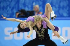 THIS JUST IN: Americans Meryl Davis & Charlie White win Olympic gold in ice dancing w/ a score of 195.52. »