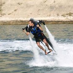 A flying water jet pack! $130,000