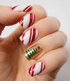 manicurator: Xmas nail art