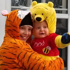 Our Tigger and Pooh. Happy Halloween!