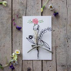 """""""Mi piace"""": 204, commenti: 9 - Daniela Corti•Wire & Textile (@filidipoesia) su Instagram: """"Buongiorno presto le mie poesie botaniche saranno online nello shop Soon in my shop my botanical…"""""""