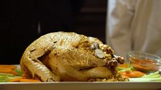 Gold leaf turkey with keys to a Maserati and 1968 Crystal champagne infused cream are just some of the Thanksgiving menu items at the Old Homestead Steakhouse. Thanksgiving Turkey Dinner, Thanksgiving Dinner Recipes, Dinner Party Recipes, Dinner Menu, Holiday Recipes, Maserati, French Dinner Parties, Most Expensive Food, Food Clips