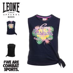 Color and fun with #Leone1947Apparel. Discover more on #Leone1947Kids ▸ http://bit.ly/2psCS2j  www.leone1947apparel.com  #WEARECOMBATSPORTS #Leone1947Apparel #spring #summer #collection #new #girl #shoponline #sportswear #casual #look