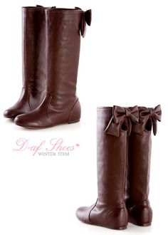 Bows and Boots.. How perfect!