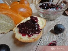Othello szőlő lekvár Cheesecake, Muffin, Breakfast, Desserts, Food, Morning Coffee, Tailgate Desserts, Deserts, Cheesecakes