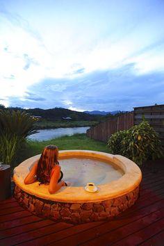 25 best pai hotspring spa resort images chalet style resort spa rh pinterest com