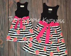 Mommy and Me Dress Mommy and Me Outfits by JustSimpleKindness