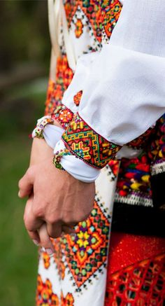 Ukraine, (taken from Trach Ruslan) , from Iryna - oh my gosh, would you look at that gorgeous embroidery work!