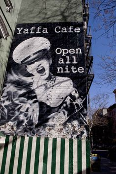 Yaffa Cafe, 97 St Marks Place in the East Village