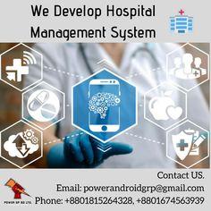We Develop Hospital Management System.  Contact us for your system design!  Email: powerandroidgrp@gmail.com  Phone: +8801815264328, +8801674563939  #uk #sweden #it #software #power_gp_bd_limited #bangladesh #hospitalmanagement #hospitalsoftware Contact Us, Sweden, Software, Management, Phone, Design, Telephone, Design Comics