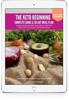 The Keto Beginning on an iPad