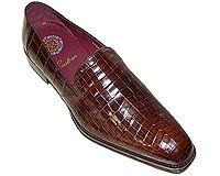 Mezlan Platinum Custom # 3804 at AlligatorWorld.com - Exotic Skin Shoes