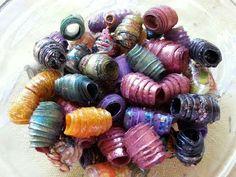 DIY - Plastic Bottle Beads! - YouTube