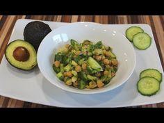 DELICIOSA ENSALADA DE GARBANZO - YouTube Cilantro, Sprouts, Vegetables, Youtube, Food, Garbanzo Salad, Cucumber, Juices, Veggies