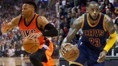 LeBron James y Russell Westbrook elegidos como Jugadores del Mes de la NBA                                                                                                                                                                                 Más