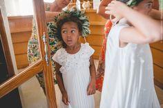 Flower Girls, Flower Girl Dresses, Greece Destinations, Greece Wedding, Documentary Wedding Photography, Rings For Girls, Destination Wedding Photographer, Documentaries, Wedding Photos